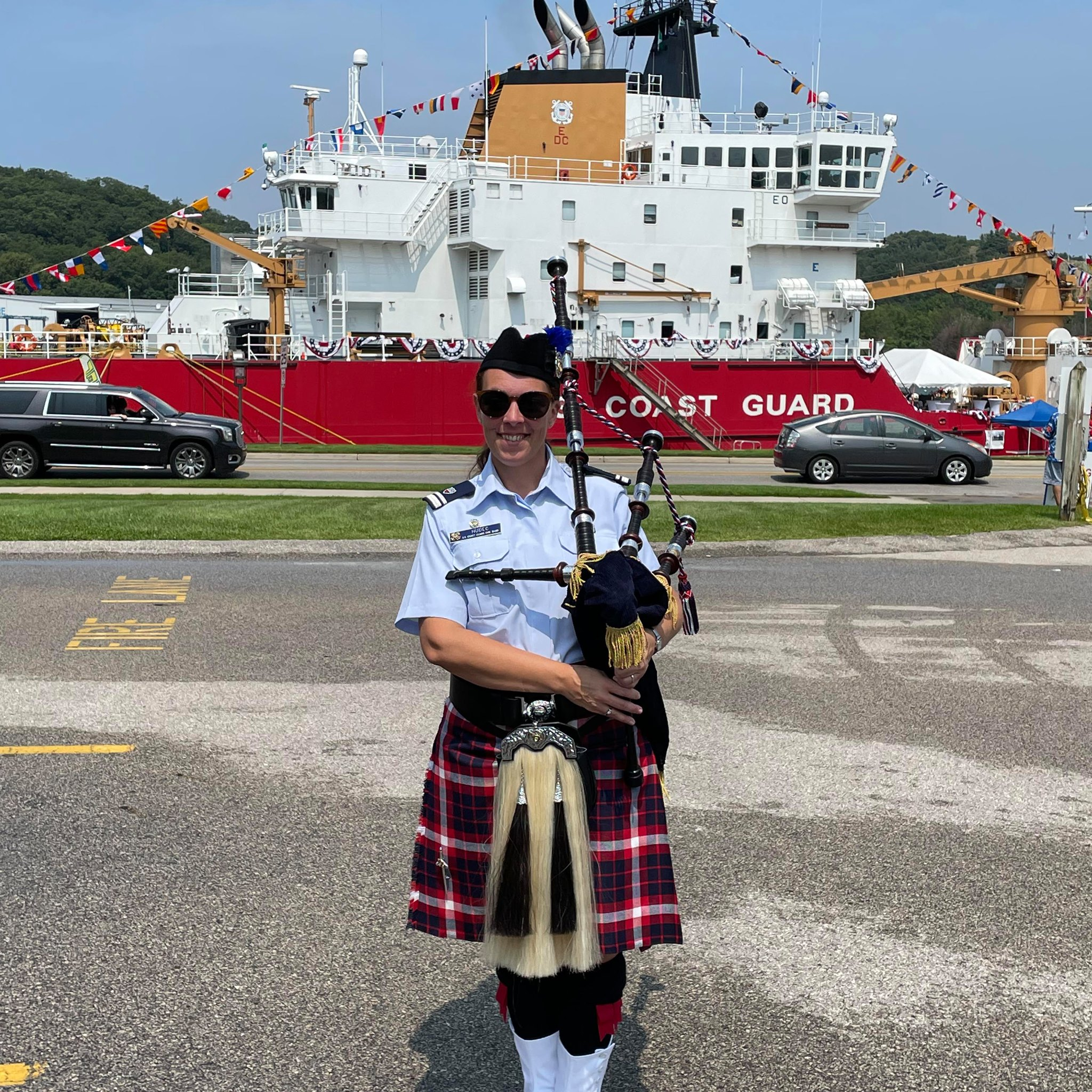 Ambition to Join the Coast Guard Pipe Band